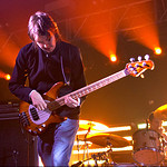 Starsailor's bass player Stel.